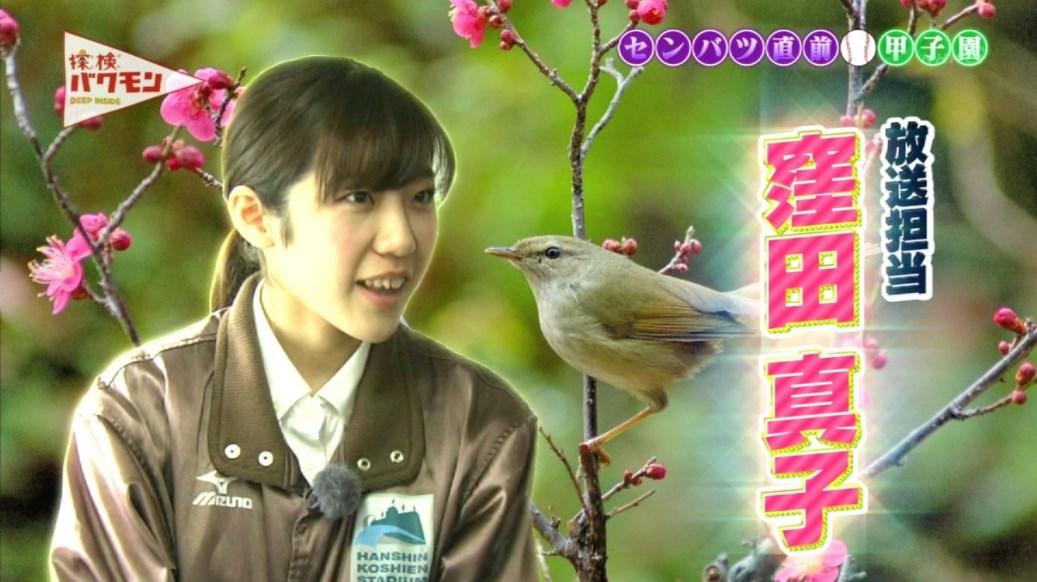 甲子園のウグイス嬢、窪田真子さん