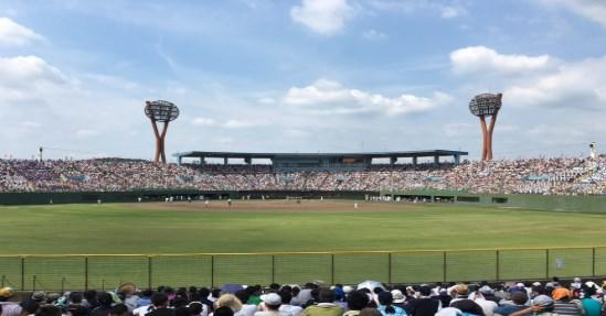 高校野球愛知 岡崎市民球場のアクセスと駐車場