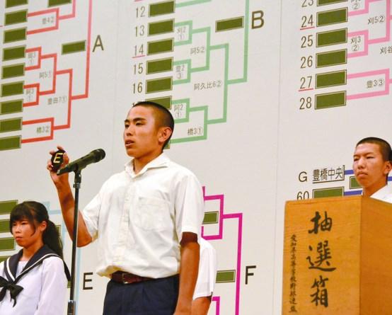 夏の高校野球2018年愛知大会組み合わせ抽選会