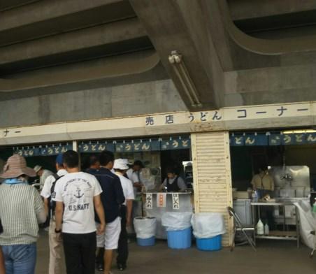 高校野球香川大会はうどん売店がある