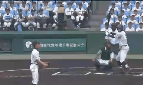 横浜対愛産大三河試合結果速報 甲子園2018夏1回戦