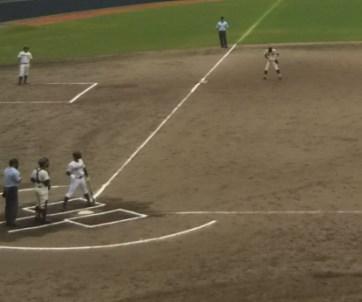 秋の国体高校野球2018出場校と日程